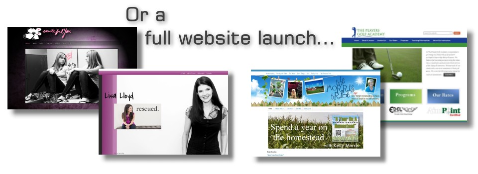 Launching A New Web site